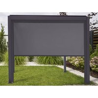 Product photograph showing Pull Down Screen For Titan 3m Pergolas
