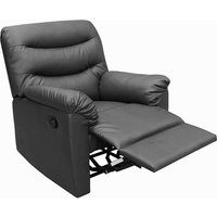 Product photograph showing Regency Recliner Chair Black