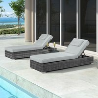 Product photograph showing Rimini Sun Lounger Set