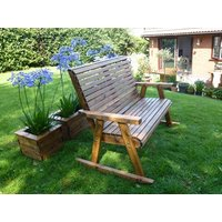 Product photograph showing Dales 2 Seater Rocking Bench