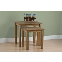 Product photograph showing Santiago Nest Of Tables