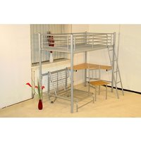 Product photograph showing Study Bunk Silver