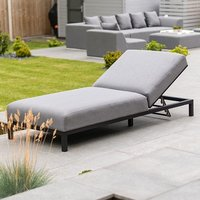 Product photograph showing Sunny Outdoor Fabric Lounger