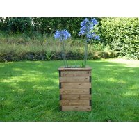 Product photograph showing Tall Square Planter