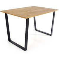 Product photograph showing Texas Small Rectangular Dining Table