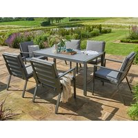 Product photograph showing Titchwell 6 Seat Dining Set