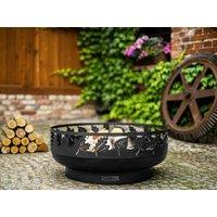 Product photograph showing Toronto 80cm Decorative Fire Bowl