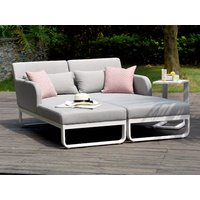 Product photograph showing Unity Double Sunlounger