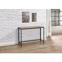 Product photograph showing Urban Console Table Rustic