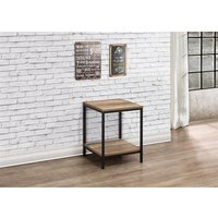 Product photograph showing Urban Lamp Table Rustic