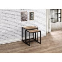 Product photograph showing Urban Nest Of Tables Rustic