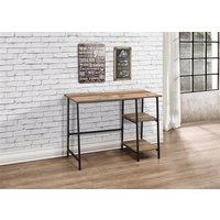 Product photograph showing Urban Study Desk Rustic