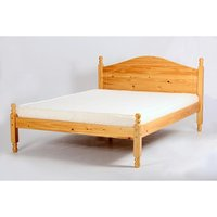 Product photograph showing Veresi Pine Bed 4 Foot