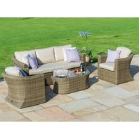 Product photograph showing Winchester 3 Seat Sofa Set With Fire Pit