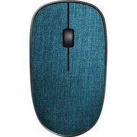 Rapoo 3510+ OPT Draadloze muis Optisch Blauw, Zilver