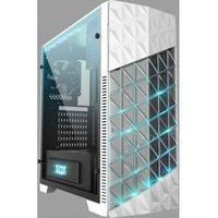 Azza Onyx 260 Midi-Toren Zwart, Wit computerbehuizing