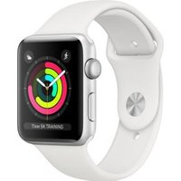 Apple Watch Series 3 OLED Zilver GPS smartwatch