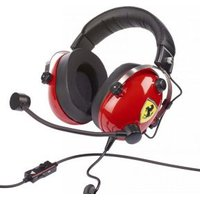Gaming headset 3.5 mm jackplug Kabelgebonden Thrustmaster Over Ear Rood