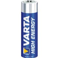 Varta 4906-12b Battery Alkaline Aa-lr6 1.5 V High Energy 12 Pack