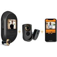 Brinno DUO 14 - Slimme WiFi Deurcamera met Bewegingsmelder en App. 14 mm