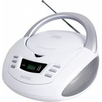 Denver TCU-211 FM CD-radio AUX, USB, CD Wit