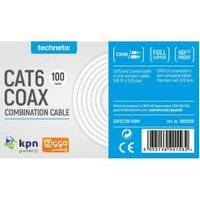 Combinatiekabel (UTP) CAT6 & Coax 100m