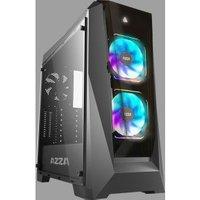 Azza Chroma 410 computerbehuizing Midi ATX Tower Black