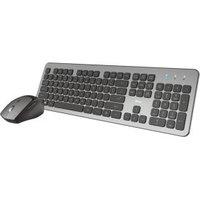 Trust Raza toetsenbord RF Draadloos Zwart, Grijs