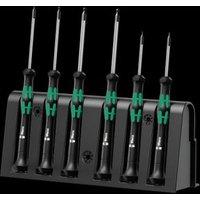 Wera 2052-6 05118156001 Schroevendraaierset 6-delig Inbus Elektronisch en fijnmechanisch
