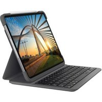 Logitech Slim Folio Pro toetsenbord voor mobiel apparaat QWERTZ Duits Grafiet Bluetooth