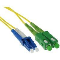 Advanced Cable Technology SC-APC8 LC-PC 9-125m OS1 DUPLEX fiber optic patchkabel (RL8803)
