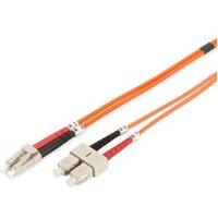 Digitus Fiber Optic Multimode Patch Cord, 1m (DK-2532-01)