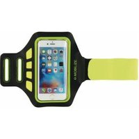 Mobilize Armband Size M Neon Yellow smartphone hoesje