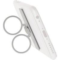 Selfie-ring smartphone-houder en standaard 360° draaibaar zelfklevend wit