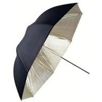 Linkstar Flitsparaplu PUK-84GB Goud-Zwart 100 cm Omkeerbaar