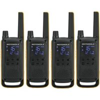 Motorola PMR-portofoon TLKR T82 Extreme Quad 10 cm Set van 4