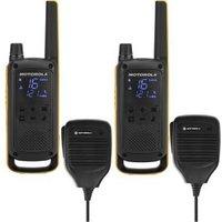 Motorola PMR-portofoon TLKR T82 Extreme RSM 10 km Set van 4