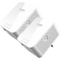 PowerLine AV2000 HD Gigabit Starter Kit 2x DHP-700AV PowerLine AV2000 HD Gigabit Adapters Up to 1000