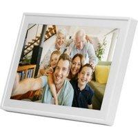 Denver PFF-711 White Digitale WiFi-fotolijst 17.8 cm 7 inch 1024 x 600 pix 8 GB Wit