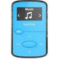 Clip Jam 8 GB MP3 Blauw