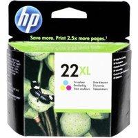 22 XL inkt, drie-kleurenpatroon
