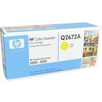 TONERCARTRIDGE HP 309A Q2672A 4K GEEL