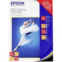 Epson Ultra Glossy Photo Paper, DIN A4, 300g-m², 15 Vel
