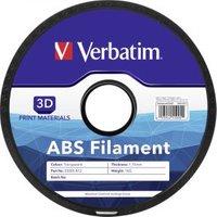 Verbatim 3D Printer Filament ABS 1.75 mm 1 kg transparant