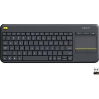Logitech Wireless Touch K400 Plus DARK INT 2.4GHZ (920-007145)