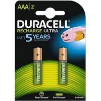 Batterij oplaadbaar Duracell 2xAAA 800mAh precharged