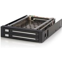 StarTech.com 2-Bay 2,5 inch Hot-Swappable SATA Mobile Rack Backplane