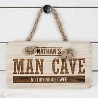 Personalised Man Cave Sign - Gadgets Gifts