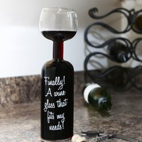 Wine Bottle Glass - Gadgets Gifts