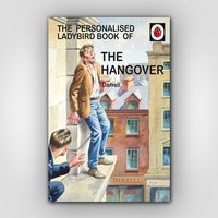 For Him: Personalised The Hangover Book - Books Gifts